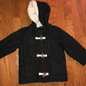 Toddler boys size 2t peacoat.